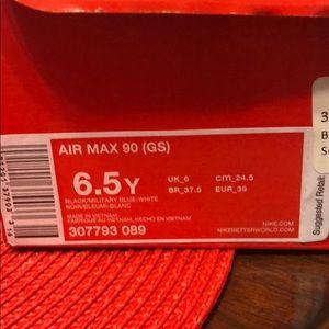 Air Max 90 GS Size 6.5 307793-089